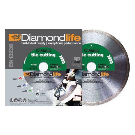 Tile Cutter. Diamond Tile Cutting Disc Classic Range TCC