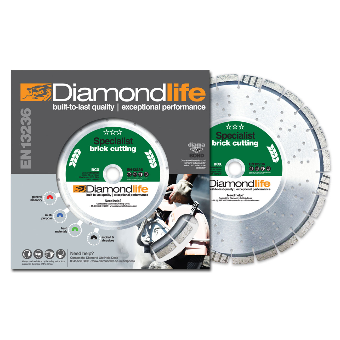 Circular Saw Blades - Diamond Blade - Specialist Range BCX