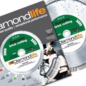 Diamond Life® Blades Brick Cutting